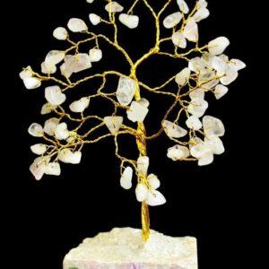 Rose Quartz 80 Stone Indian Gemstone Trees