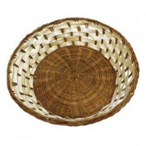 Round Shape Baskets 23 x 7 cm Village Baskets