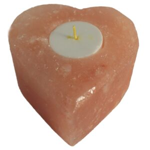 Salt Candle Holders Med Heart Quality Himalayan Salt Lamps & Candle Holders