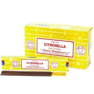 Satya Incense 15gmCitronella Satya Incense Sticks