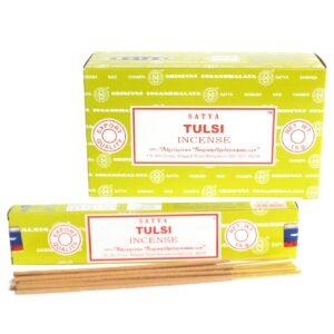 Satya Incense 15gmTulsi Satya Incense Sticks
