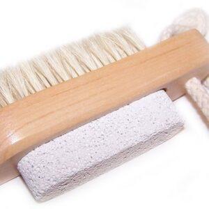 Scrub and Scrape Brush and Stone Brush Scrub & Scrape