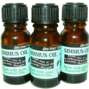 Simmus Oil 10 ml bottle Simmus Oil