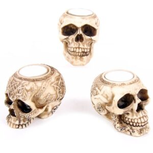 Skull Tealight Holder Favorite Gothic Stuff