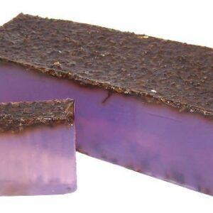 Sleepy Lavender Soap Loaf Wild & Natural Hand-Crafted Soap 1.3kg and Slices