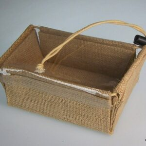 Small Flat Pack Gift Box 13x9x6cm Jute Gift Boxes