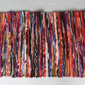 Small Velvet Rug 50x90cm Indian Rag Rugs