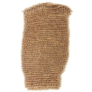 Snug Jute Mitt Brown Luxury Scrubs & Sponges