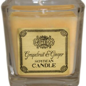 Soybean Jar Candles Grapefruit and Ginger Soybean Wax Jar Candles