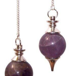 Sphere Pendulums Amethyst Sphere Pendulums