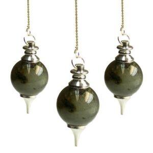 Sphere Pendulums Labrodorite Sphere Pendulums