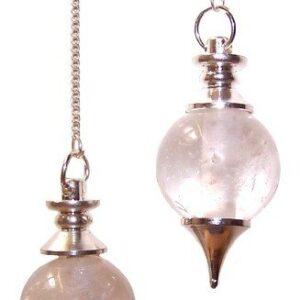 Sphere Pendulums Rock Quartz Sphere Pendulums