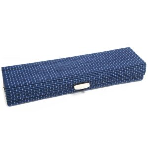 Square Box 21.5cm Blue Luxury Bamboo Gift Boxes