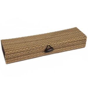 Square Box 21.5cm Natural Luxury Bamboo Gift Boxes