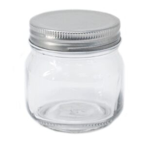 Square Jar Four Sides and Lid Special Glass Jars