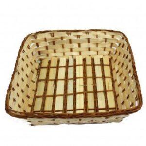 Square Shape Baskets 23 x 23 x 7 cm Village Baskets
