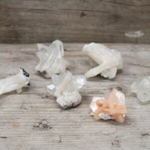 Stilbite Combination with Apophyllite 2030mm Rare Mineral Specimens