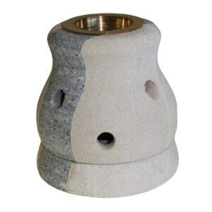 Stone Oil Burner Combo Shaped Sandstone Oil Burners