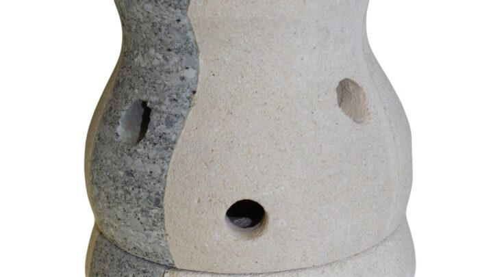 Stone Oil Burner Combo Shaped Sandstone Oil Burners