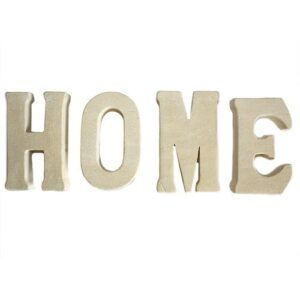 Stone Word HOME Stone Letter Sets