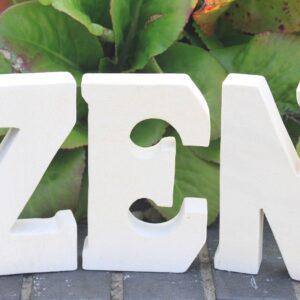 Stone Word ZEN Stone Letter Sets