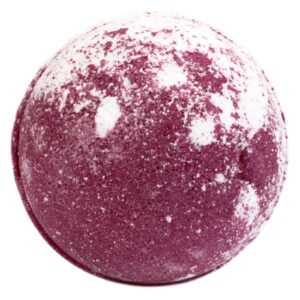 Strawberry Pavlova Bath Bomb Red and White Just Desserts Bath Bombs - 180g