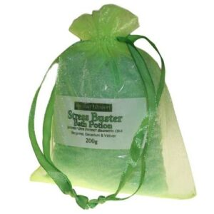 Stress Buster Potion in 200g Bag Aromatherapy Bath Potions in Bags