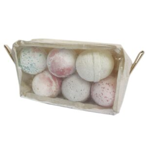 Toiletry Bag Clear PVC Organic Cotton Toiletry / Gift Bag 20cm