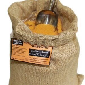 Total Detox Potion 7kg  Hessian Sack Aromatherapy