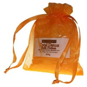 Total Detox Potion in 200g Bag Aromatherapy Bath Potions in Bags