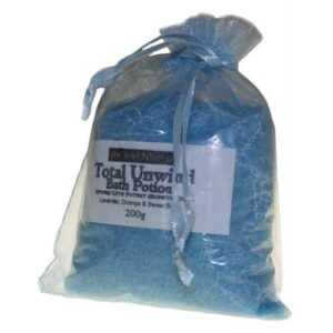 Total Unwind Potion in 200g Bags Aromatherapy Bath Potions in Bags