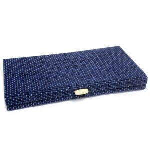 Tray Box 24.5cm Blue Luxury Bamboo Gift Boxes