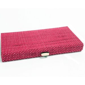 Tray Box 24.5cm Pink Luxury Bamboo Gift Boxes