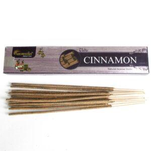 Vedic Incense Sticks Cinnamon Box of 12 Vedic Incense Sticks - 15g