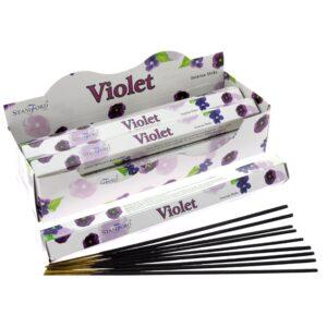 Violet Premium Incense Stamford Premium Hex