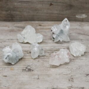 White Apophyllite Clusters 2030mm Rare Mineral Specimens