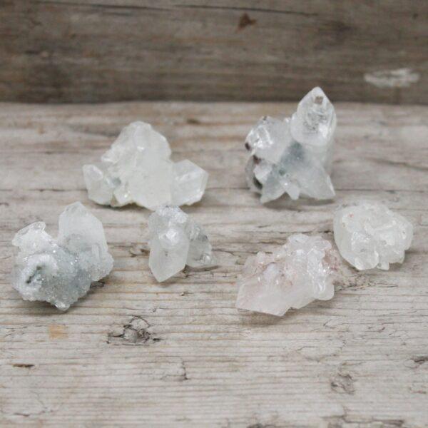 White Apophyllite Clusters 2030mm Rare Mineral Specimens