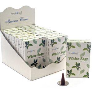 White Sage Cones Stamford Premium Incense Cones