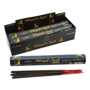 Wizard's Spell Incense Sticks Stamford Black Incense Sticks (15's)
